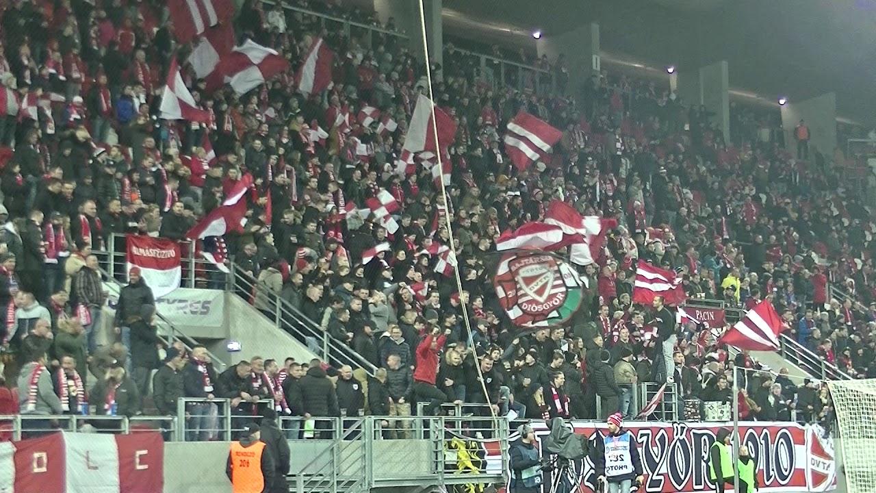 DVTK vs. MOL Fehérvár FC 19/20 - Ultras Diósgyőr II. - YouTube