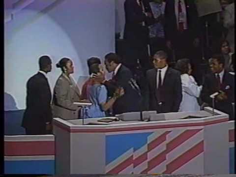 Jesse Jackson Speech to 1988 Convention Pt.1