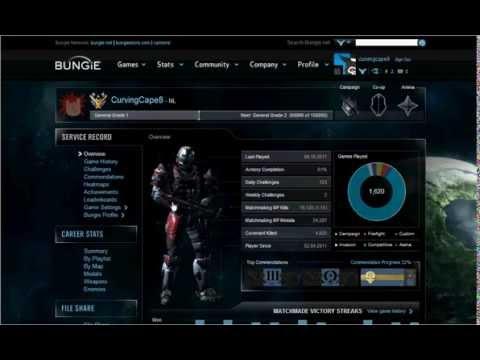 My Halo reach Stats ( bungie net)