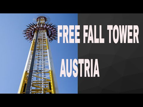 Free fall tower ''Space shot'' - Prater, Vienna 2017   #1 7#