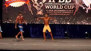 IFBB Culturism și Cupa Mondială de Fitness 2018  MEN'S PHYSIQUE - Open