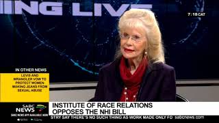 Institute of Race Relations opposes the NHI Bill