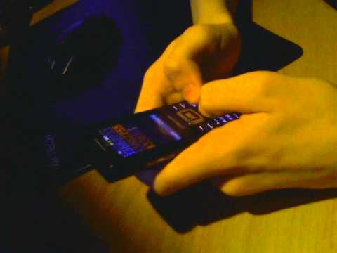 Futurama theme на клавиатуре телефона