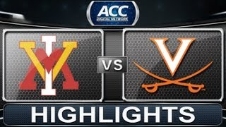 2013 ACC Football Highlights | VMI vs Virginia | ACCDigitalNetwork
