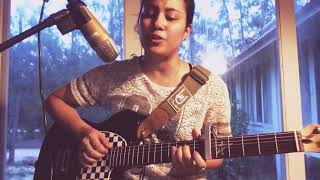Gambar cover God Is A Woman - Ariana Grande ( Cover by Sarah Saiful )