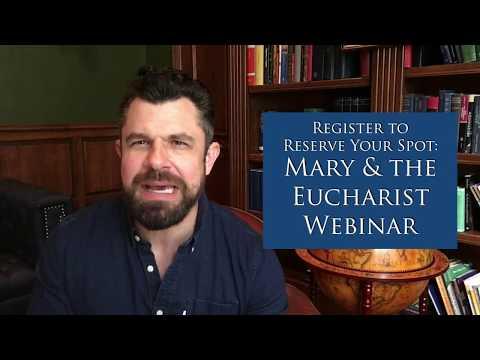 Mary and Eucharist Webinar Invite Video