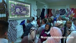 Nusaybin Halk Eğitim Merkezinden El Sanatları Sergisi Açıldı