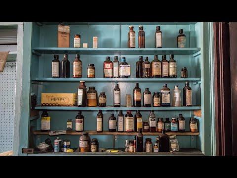 Abandoned 1950\'s Drug Store - Medicine Still Shelved! (Ghost Town)