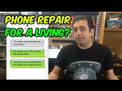 Should you repair phones for a living?