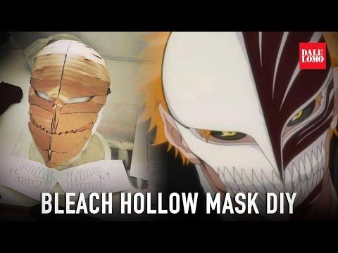 DIY Bleach Hollow Mask Part 1 - Cardboard