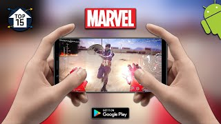 Top 15 Marvel Games for Android 2018 | CONSOLE GAMES ON MOBILE - ULTRA HD GRAPHICS!