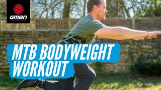 6 Body Weight Exercises For Mountain Bikers   Stay At Home Workout