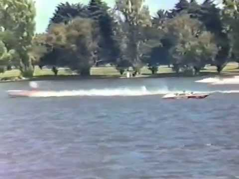 Speedboat Racing February 1986 Albert Park Lake Part 2
