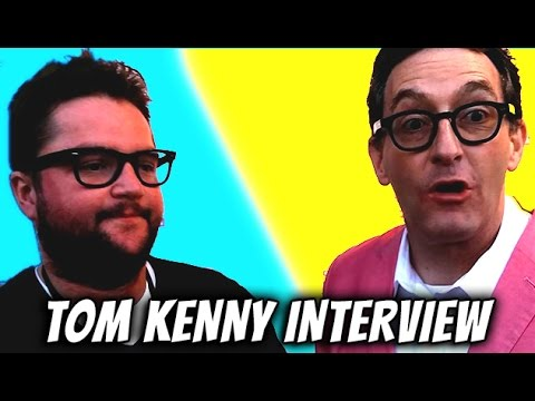 Tyler Evans meets SpongeBob SquarePants -- Tom Kenny Interview -- Talking Tom and Friends Premiere