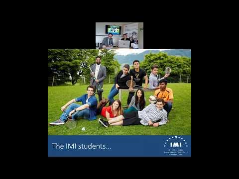 IMI Postgraduate Programmes - Information Webinar