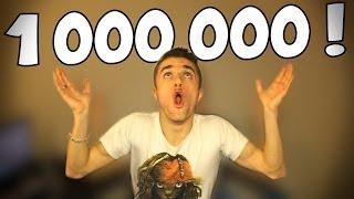 1 MILLION D'ABONNÉS