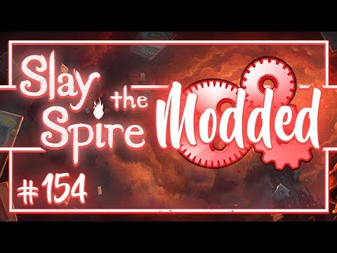 Let's Play Slay the Spire Modded: New Character The Guardian! - Episode 154
