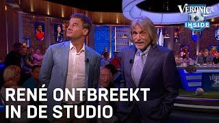 Veronica Inside wacht: René van der Gijp te laat in studio