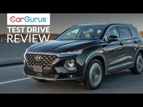 2019 Hyundai Santa Fe | CarGurus Test Drive Review