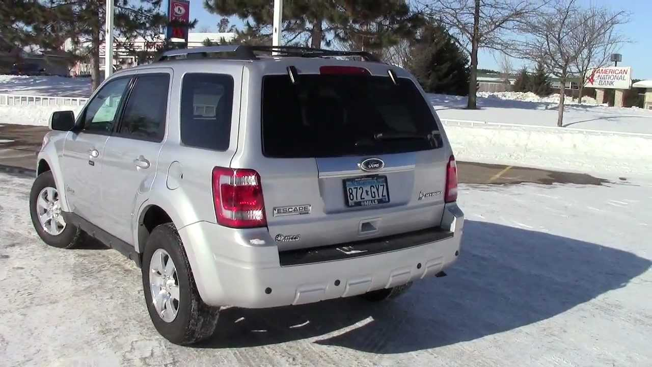 2017 Ford Escape Hybrid 4wd