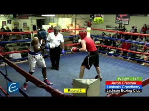 J Crabtree vs L Grandberry Jackson GG Boxing 2017