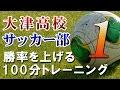 大津高校サッカー部監督 平岡和徳の勝率を上げる100分トレーニング Disc1 sample