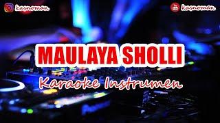 🎙 MAULAYA SHOLLI (SHOLAWAT BURDAH)   KARAOKE INSTRUMEN