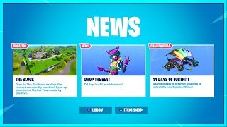 NEW FREE ITEM 14 DAYS OF FORTNITE NEW CHALLENGES! DAY 14 REWARD! LIVE COUNTDOWN!