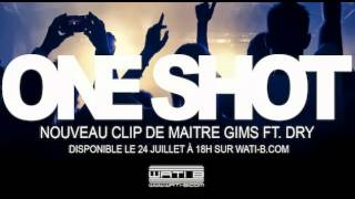 maitre gims - one shot feat.dry