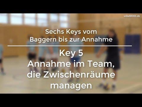 Stefan Hübner - Baggern/Annahme - Key 5: Annahme im Team, die Zwischenräume managen