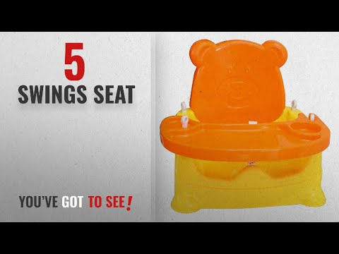 top-10-swings-seat-[2018]:-toyboy-honey-bee-5-in-1-baby-booster-seat-cum-swing---orange