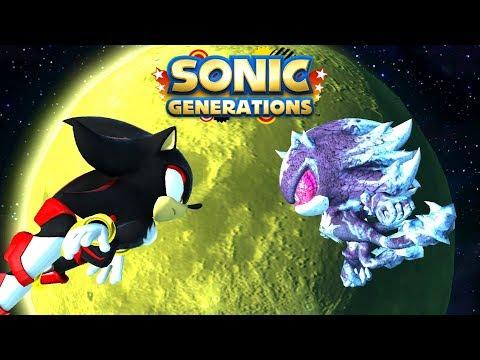 Sonic Generations Mephiles VS Shadow Mephiles MOD [ 4K 60 FPS]
