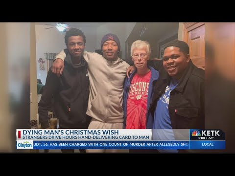Lisa St. Regis - Strangers Drive Hours With Christmas Cards to Fulfill Man's Dying Wish