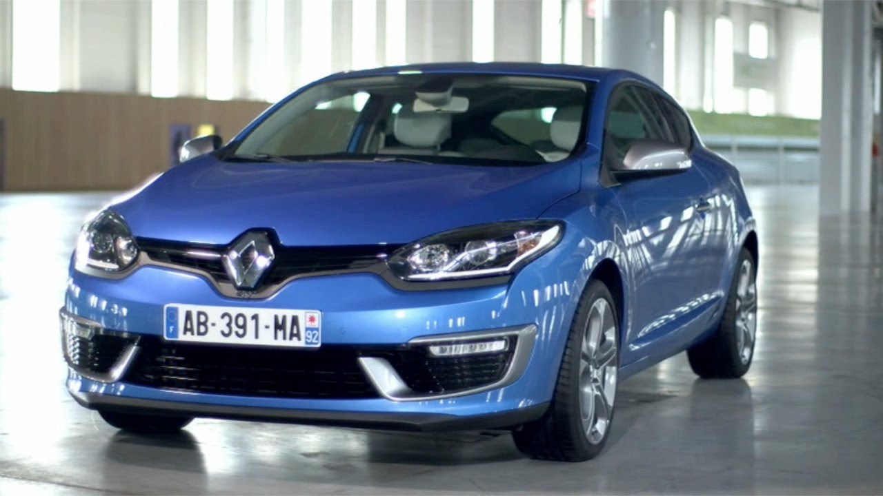 NEW 2014 Renault Mégane Coupé GT - DESIGN (exterior & interior