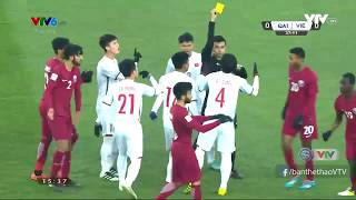 U23 Việt Nam vs U23 Qatar - Highlights & All Goals (23/01/2018)