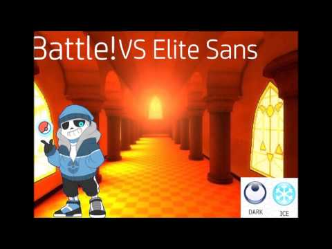 [trainertale] Vs Elite Sans (undertale AU)