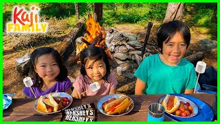 Ryan's Family First Tİme Camping Trip Together!!!