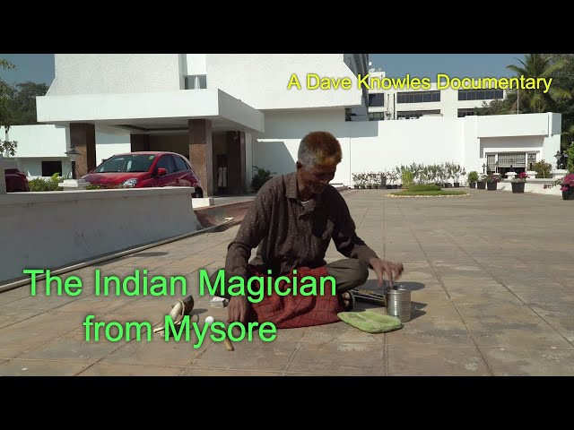 The Magic of the Indian Magician in Mysuru India
