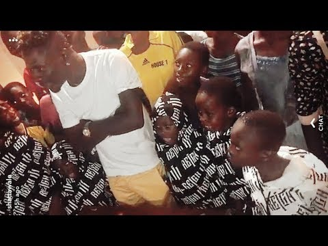 SHATTA WALE Gives Kids Money On Birthday & Party With SM Crew