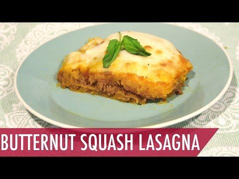 Healthy Dinner Recipe Butternut Squash Lasagna