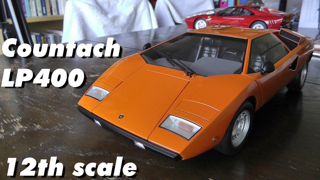 1 12 Kyosho Lamborghini Countach Lp400 Diecast Model Car Review