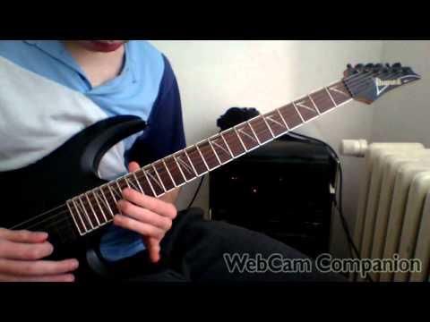 Europe - Coast To Coast solo guitar cover