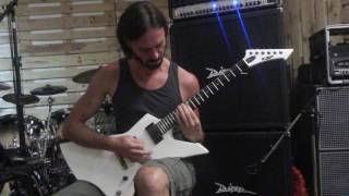 Raffael Trimmal from Black Inhale - WARNING (Guitar Playthrough)