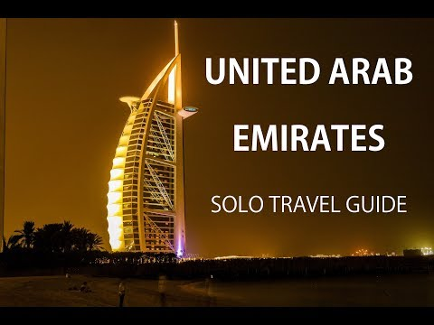United Arab Emirates - Solo Travel Guide