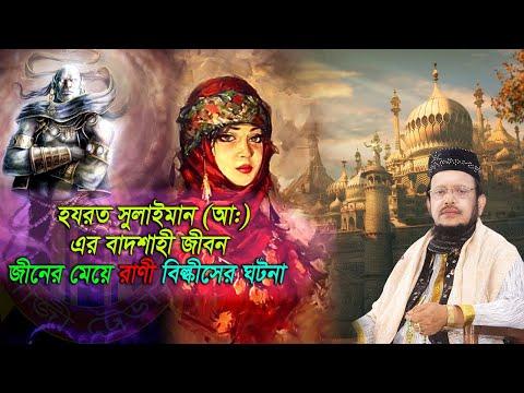 হযরত সুলাইমান (আ:) এর বাদশাহী জীবন & জীনের মেয়ে রাণী বিল্কীসের ঘটনা | Pirjada Shafiqul Islam waz