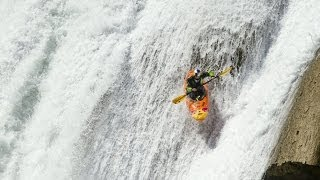 Kayaking through the most dangerous waterfalls on Earth