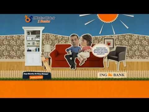 ING BANK - 1 Man 1 Woman 1 Bank - Digital Campaign