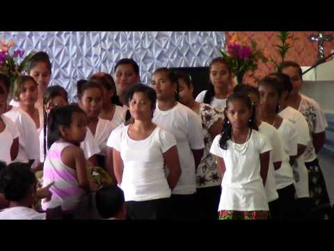 Pohnpei Youth Rally at Dien church 78