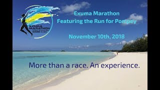 Exuma Marathon Featuring the Run for Pompey.