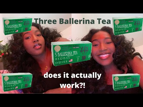 3 BALLERINA TEA | DOES IT WORK? | DETOX AND WEIGHT LOSS METHOD!